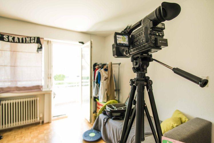 camcorder-room-setup